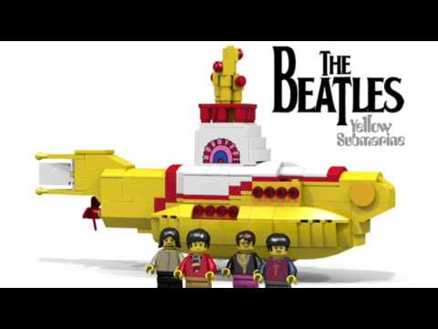LEGO Ideas The Beatles Yellow Submarine Reaches 10K Supporters ...