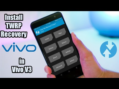 Flash TWRP Recovery in VIVO V3