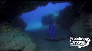Freediving Lanzarote - The Blue Hole