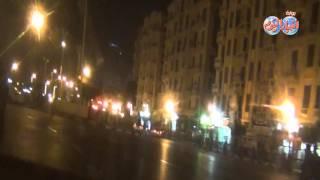 سيولة مرورية وجولة في وسط البلد وميدان التحرير