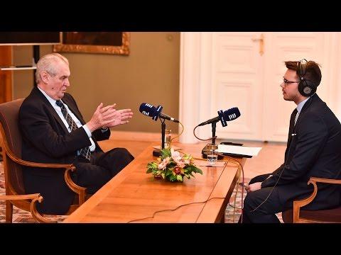 Exkluzivní rozhovor s prezidentem Milošem Zemanem