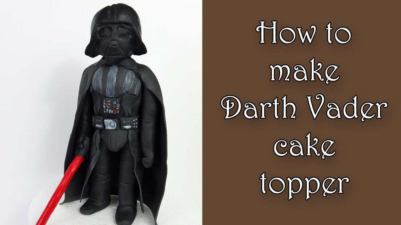 How to make Darth Vader cake topper / Jak zrobić figurkę ...