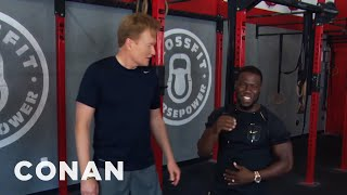 Outtakes From Conan & Kevin Hart's Workout  - CONAN on TBS