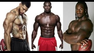 11 of NFL's Strongest Players (and these guys are HUGE...) Must See!