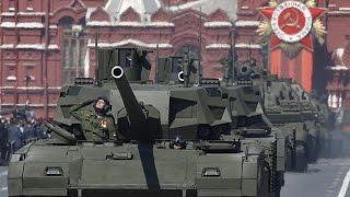 Танк «Армата» заглох во время репетиции парада Победы в Москве