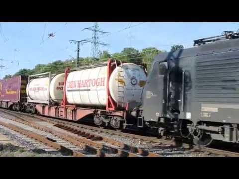 Cologne Gremberg freight trains compilation 24 09 16 part a