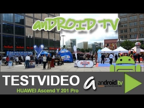 HUAWEI Ascend Y201 Pro - Video example - android tv