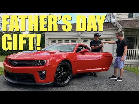 Giving My Dad The ULTIMATE Father's Day Gift!!! | GuitarmageddonZL1