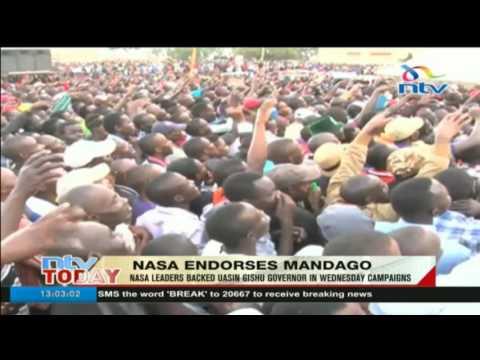 NASA endorses Uasin Gishu governor Jackson Mandago