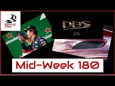 MID-WEEK 180 - Danny Ric Best Overtaker ?   DBS Superleggera