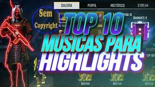 TOP 10 MELHORES MÚSICAS SAD PARA HIGHLIGHTS DE FREE FIRE + DOWNLOAD + SEM DIREITOS AUTORAIS - 💔Pt.2