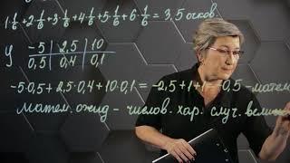 Фото Математическое ожидание дискретной случайной величины. 10 класс.
