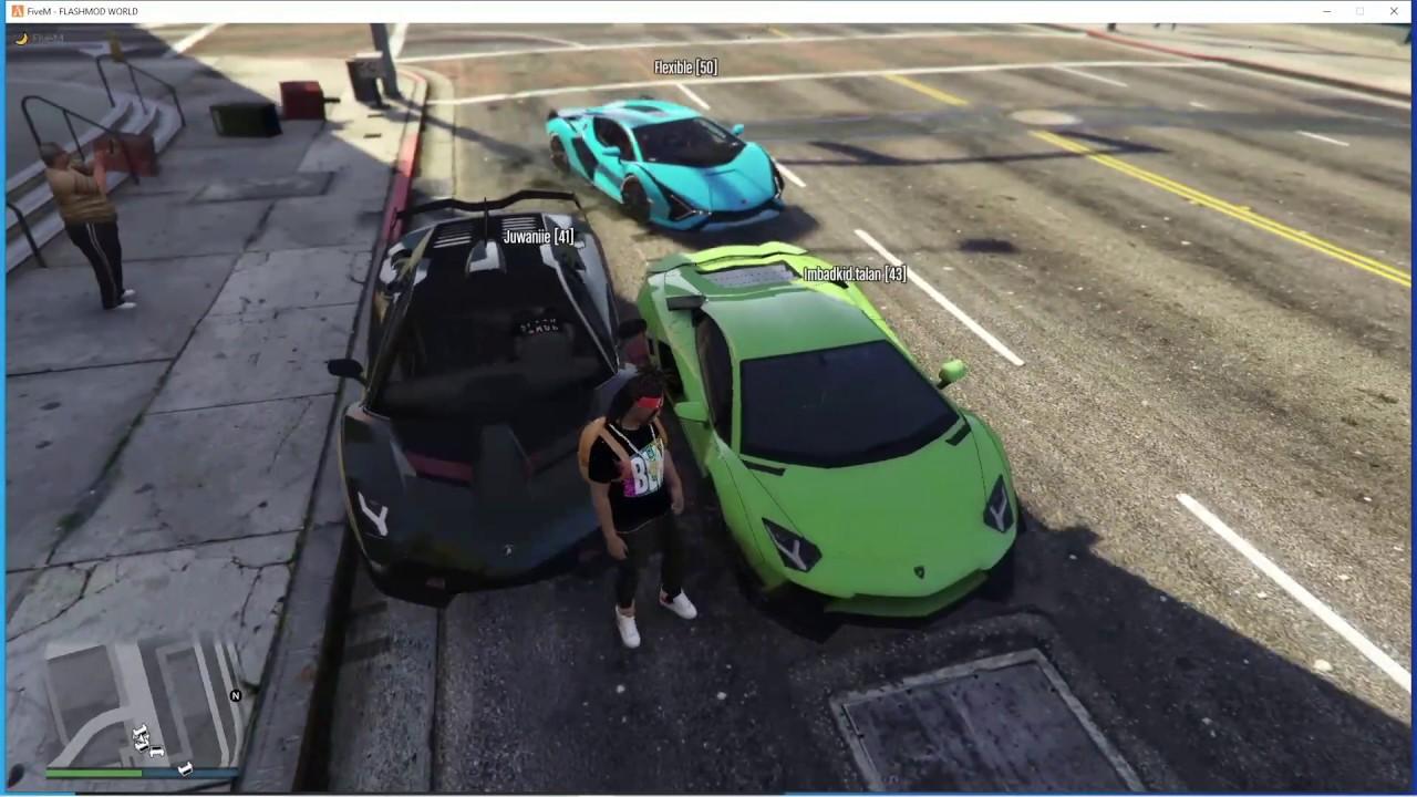 Download GTA 5 ROLEPLAY - LAMBORGHINI CAR MEET (NERD COME BACK FOR REVENGE)