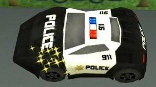 Мультфильм про машинки (полицейская машина). Развивающий мультик пазл. Cars Puzzle For Kids