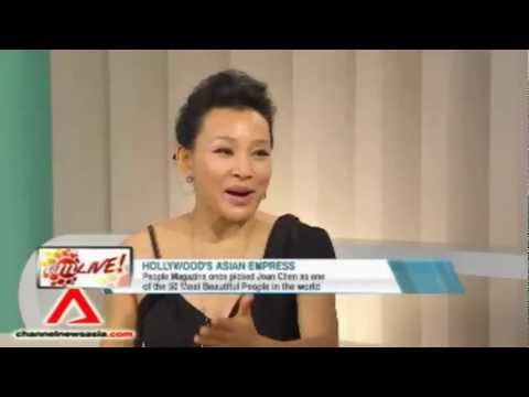 with Hollywood's Asian Empress: Joan Chen