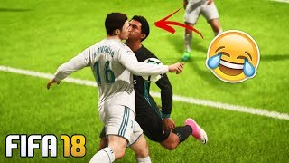 Best FIFA 18 FAILS - Funny & Random Moments Compilation! #1
