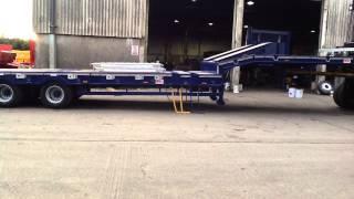 Tri-Axle Stepframe Extending