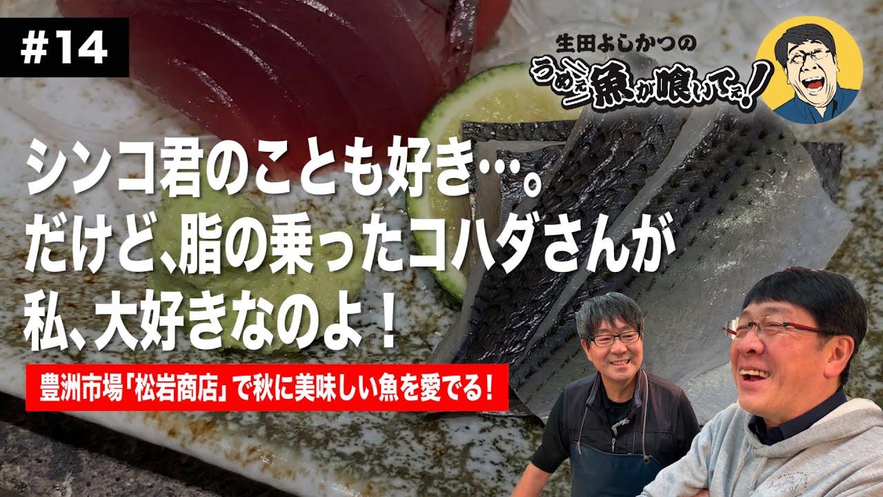 【第14回】品数豊富な種物屋さんで秋のうめぇ魚を愛でる!