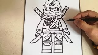 COMO DIBUJAR A LLOYD - NINJA GO / how to draw lloyd - ninja go