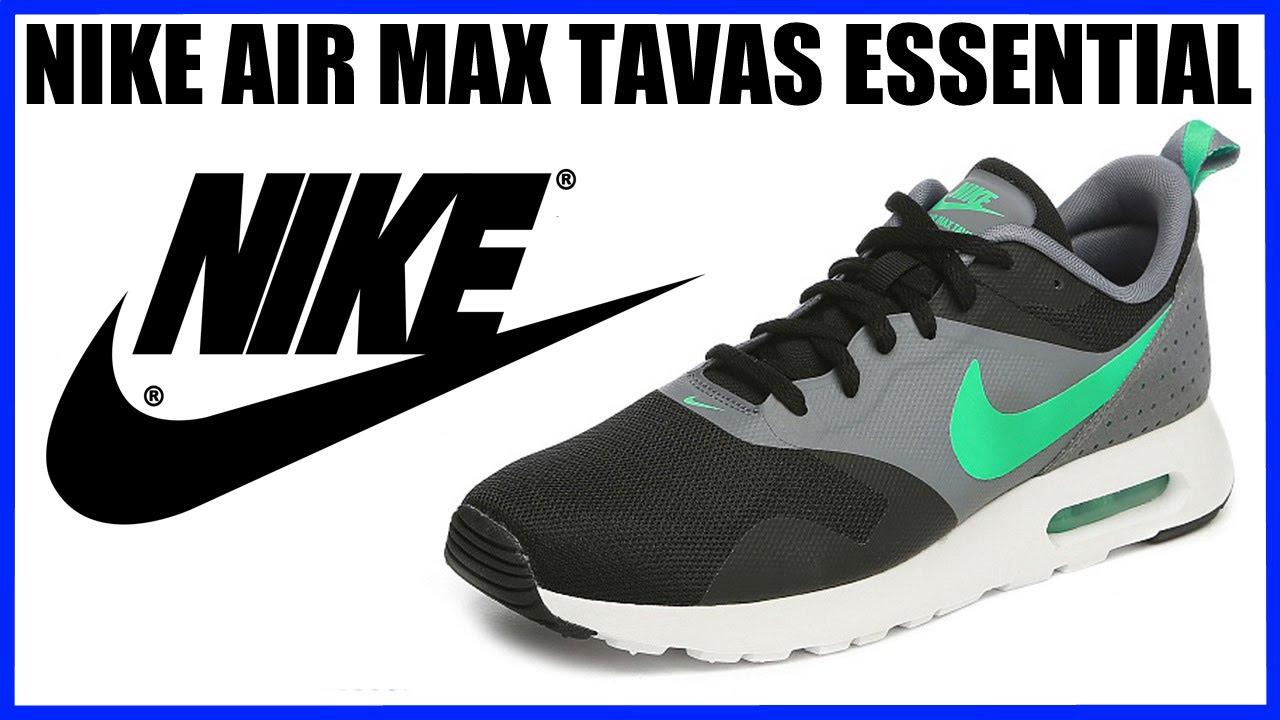 ae09892f7b8fa9 Обзор кроссовок Nike Air Max Tavas Essential Распаковка Sneakers Review -  YouTube