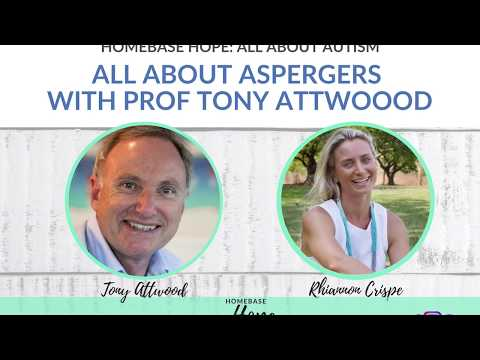 All About Aspergers With Prof Tony Attwood