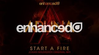 Aruna - Start A Fire (Johan Malmgren Original Mix) [OUT NOW]