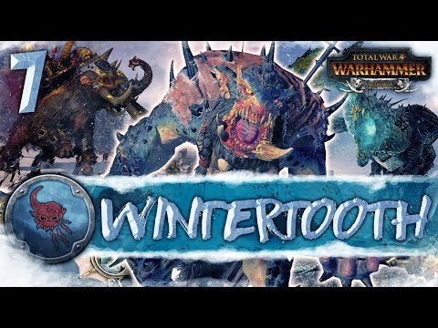 LET THE HUNT BEGIN! Total War: Warhammer - Wintertooth Campaign #7