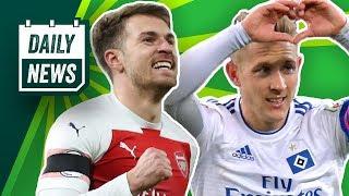 Real Madrid: 45 Millionen für Jovic! Nürnberg feuert Köllner! Ramsey wird bestbezahlter Brite!