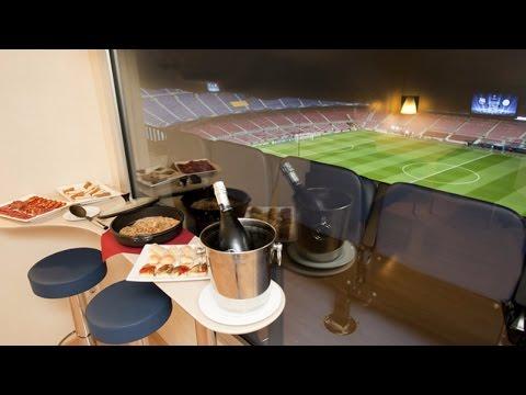Arsenal vs Crystal Palace 2-0 luxury VIP box WATCH Olivier Giroud Scorpion goal from VIP box