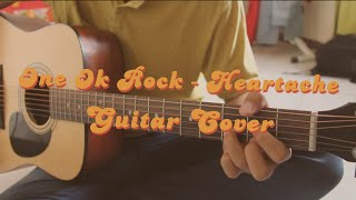 Guitar Cover One Ok Rock - Heartache Studio Jam Session