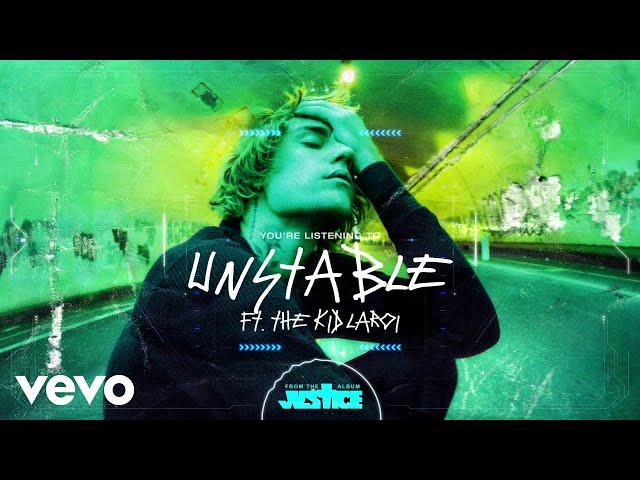 Justin Bieber - Unstable (Visualizer) ft. The Kid LAROI