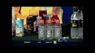 Tips for Staying Hydrated in the Heat of Summer (7/21/12 on KARE 11)