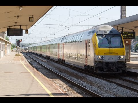 Treinen op Station Brussel-Noord (Bruxelles-Nord)