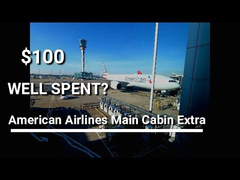 Review | American Airlines | Main Cabin Extra | JFK To LHR
