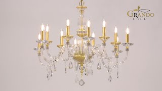Stellina collection crystal chandeliers Video