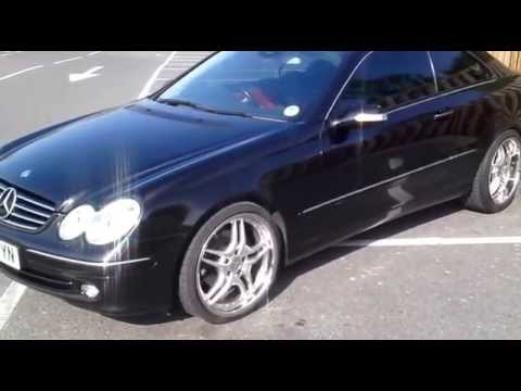 mercedes clk w209 tuning youtube. Black Bedroom Furniture Sets. Home Design Ideas