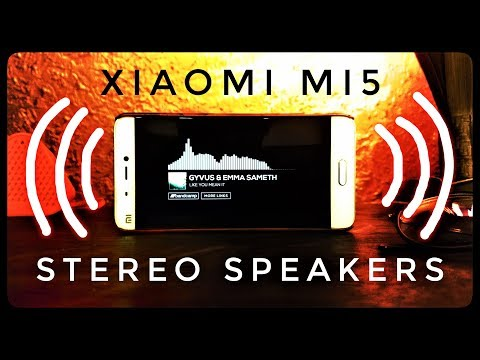 Get Dual Stereo Speakers on Xiaomi Mi5! ~ Best MOD Ever!