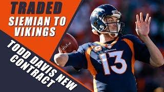 Broncos Trade Trevor Siemain to Vikings