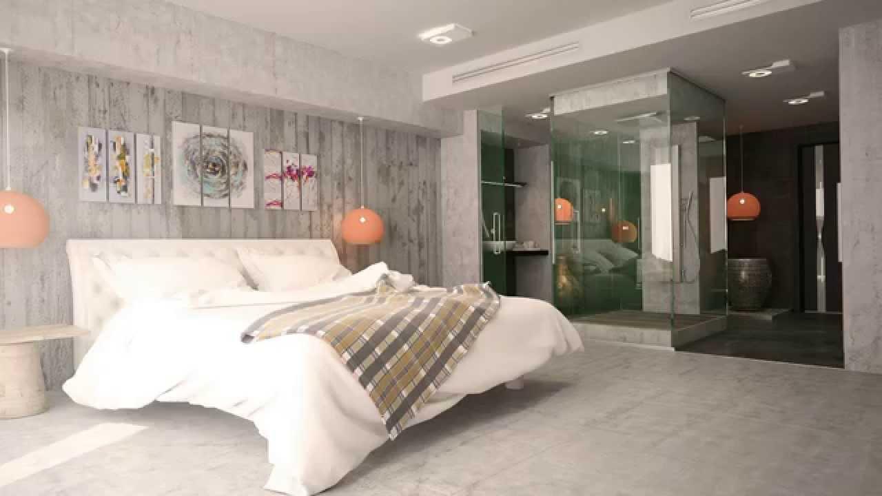 Hotel room Design تصميم داخلي لغرفة فندقية   YouTube
