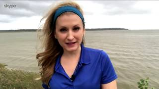 Hurricane Florence Liveshots - Cheryl Nelson on The AccuWeather Network