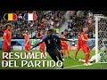 FRANCIA VS BELGICA 1-0 | Rusia 2018 - Resumen & Goles del partido desde el estadio