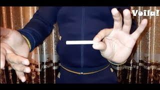 cigarette magic tricks revealed. Sigaret bilan fokus siri. Cекрет фокус с сигаретой