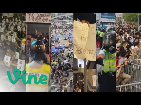 Vine compilation: Hong Kong's 2014 Umbrella Movement Occupy protests - 297 clips in 31 minutes