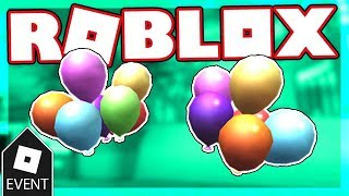 [EVENT] How to get the BALLOON PAULDRONS | Roblox