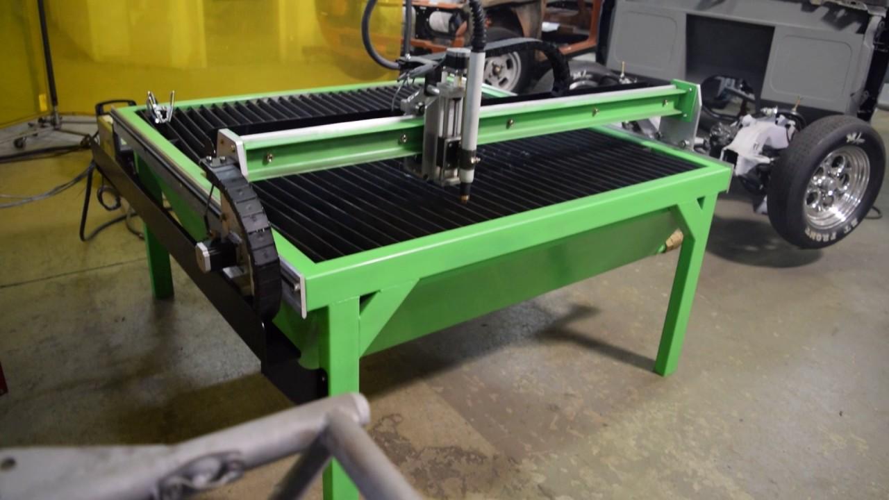 DIY Plasma Table ND 3100 CNC Plasma Table - YouTube