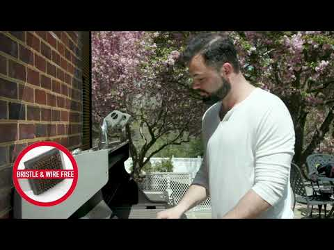 Swipe Right with the Q-Swiper Grill Grate Cleaner