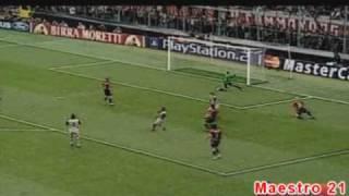 Highlights AC Milan 2-0 PSV Eindhoven - 26/4/2005