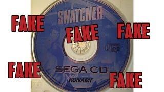 Snatcher Sega CD Scam - #CUPodcast