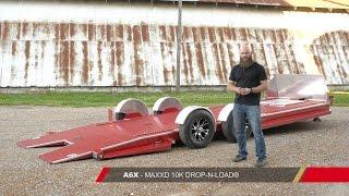 Bagged Car Trailer - A6X DROP-N-LOAD® by MAXXD Trailers