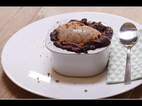 recette-facile-de-soufflés-chocolat---marron
